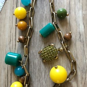 Turtle J crew necklace